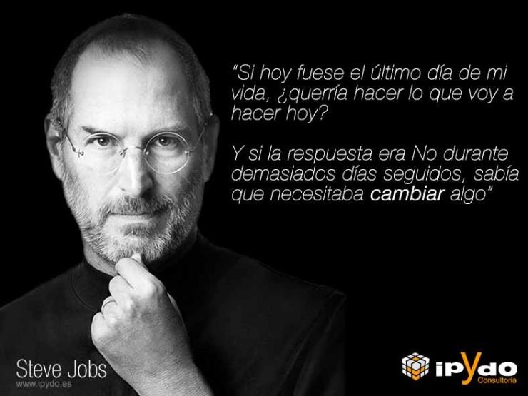 Frase Célebre Steve Jobs: Cambio