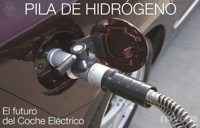 Pila de hidrógeno Futuro del Coche Eléctrico ipYdo Alicante