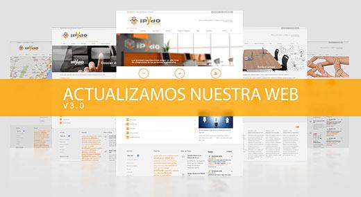 Actualización de la wen de consultoría ipYdo - Tarjeta de visita
