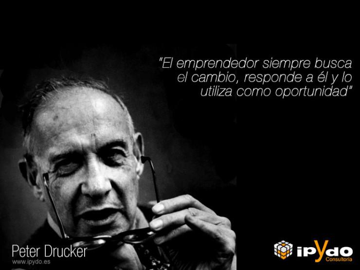 Peter-Drucker frase célebre Consultoría ipYdo Alicante