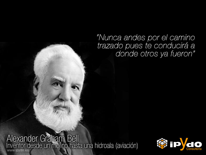 Alexander Graham Bell Frase Célebre De La Semana