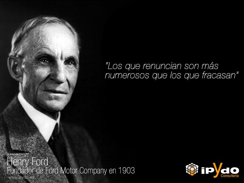 No Todo Ingeniería Henry Ford Sobre El Fracaso