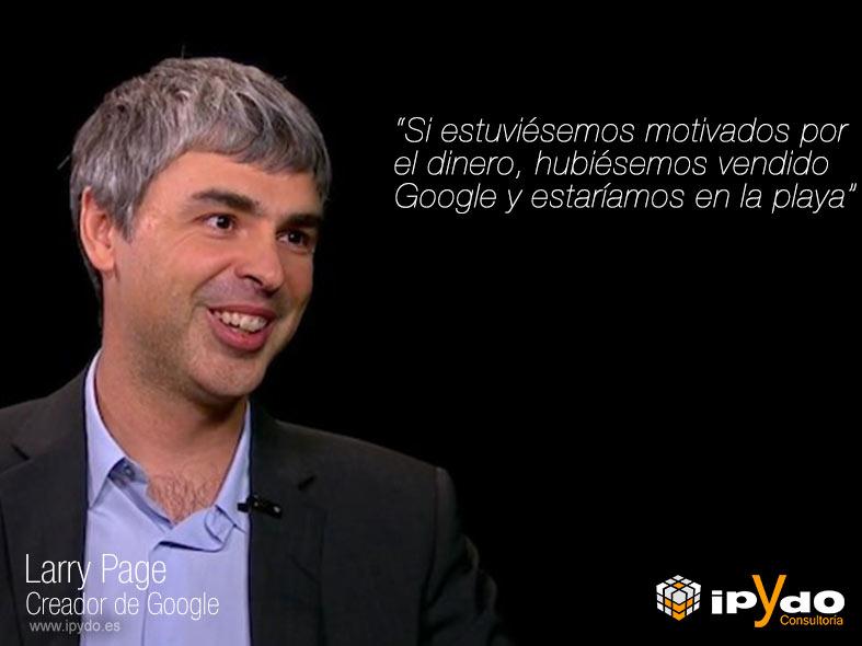 Larry Page por Consultoría ipYdo S.L. Ingeniería