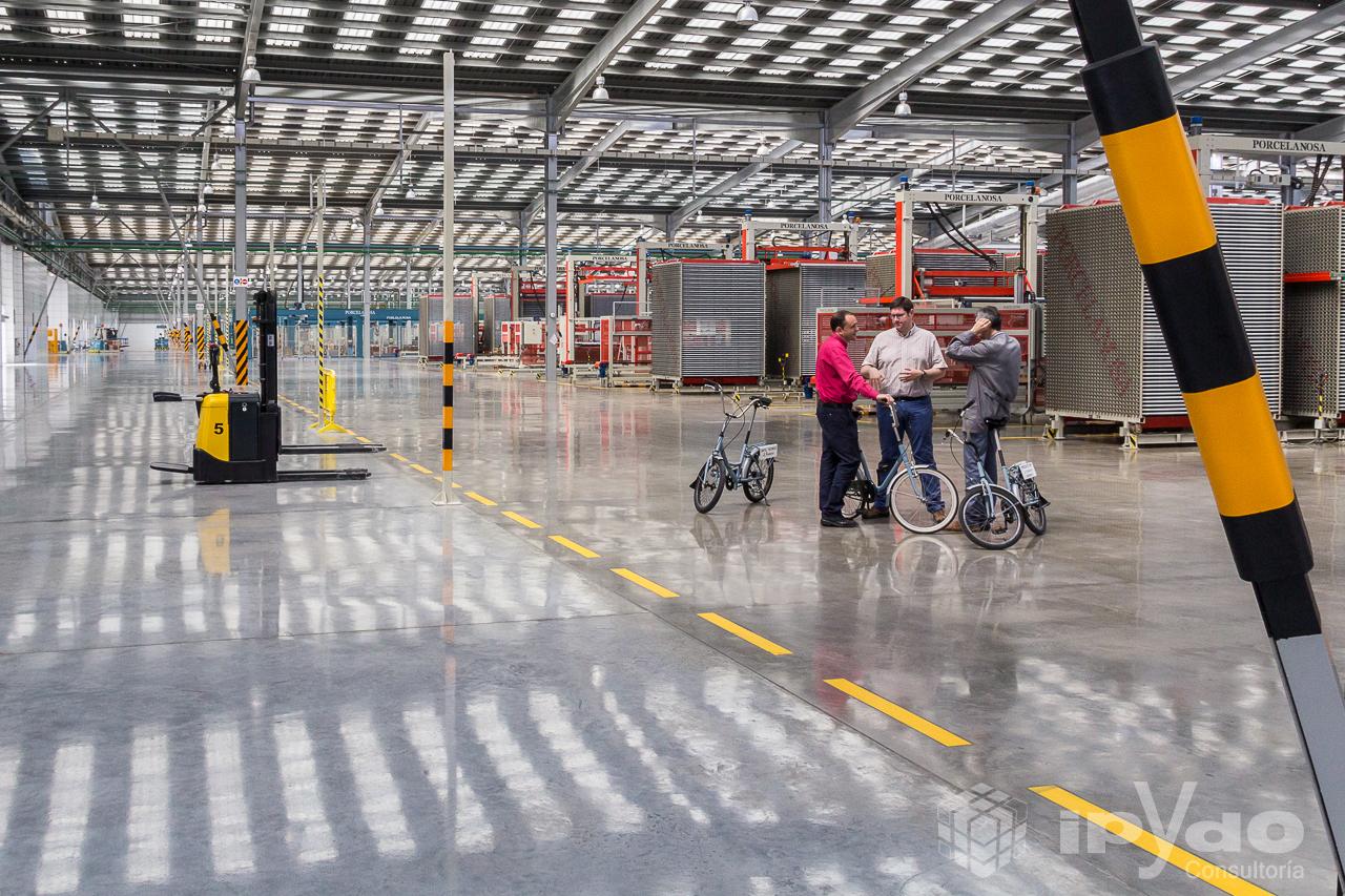 F brica porcelanosa bicicletas como medio de transporte - Porcelanosa alicante ...