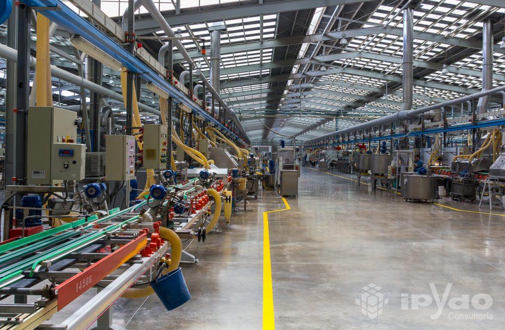Fábrica de PORCELANOSA - Líneas de Producción