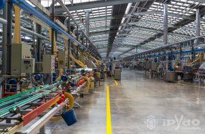 Fábrica PORCELANOSA - Líneas de Producción
