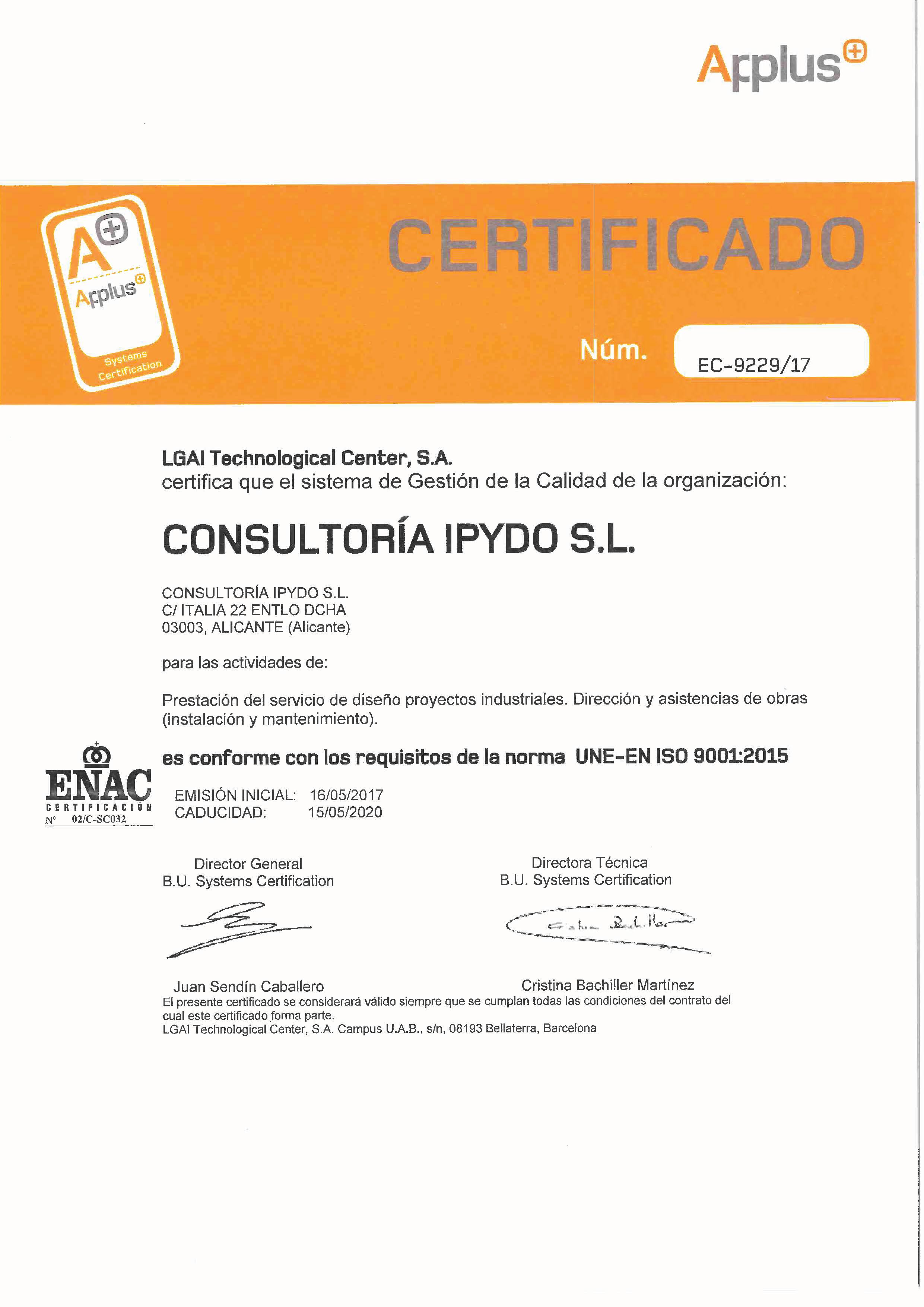requisitos para ser certificado iso 9001