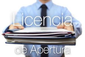 Licencia de Apertura Alicante Elche Elda San Juan Provincia
