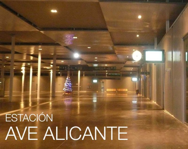 Iluminación Interior - Estación AVE Alicante